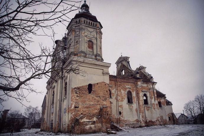 Марина Временова Костел Святого Марка в селе Варяж, Львовская область