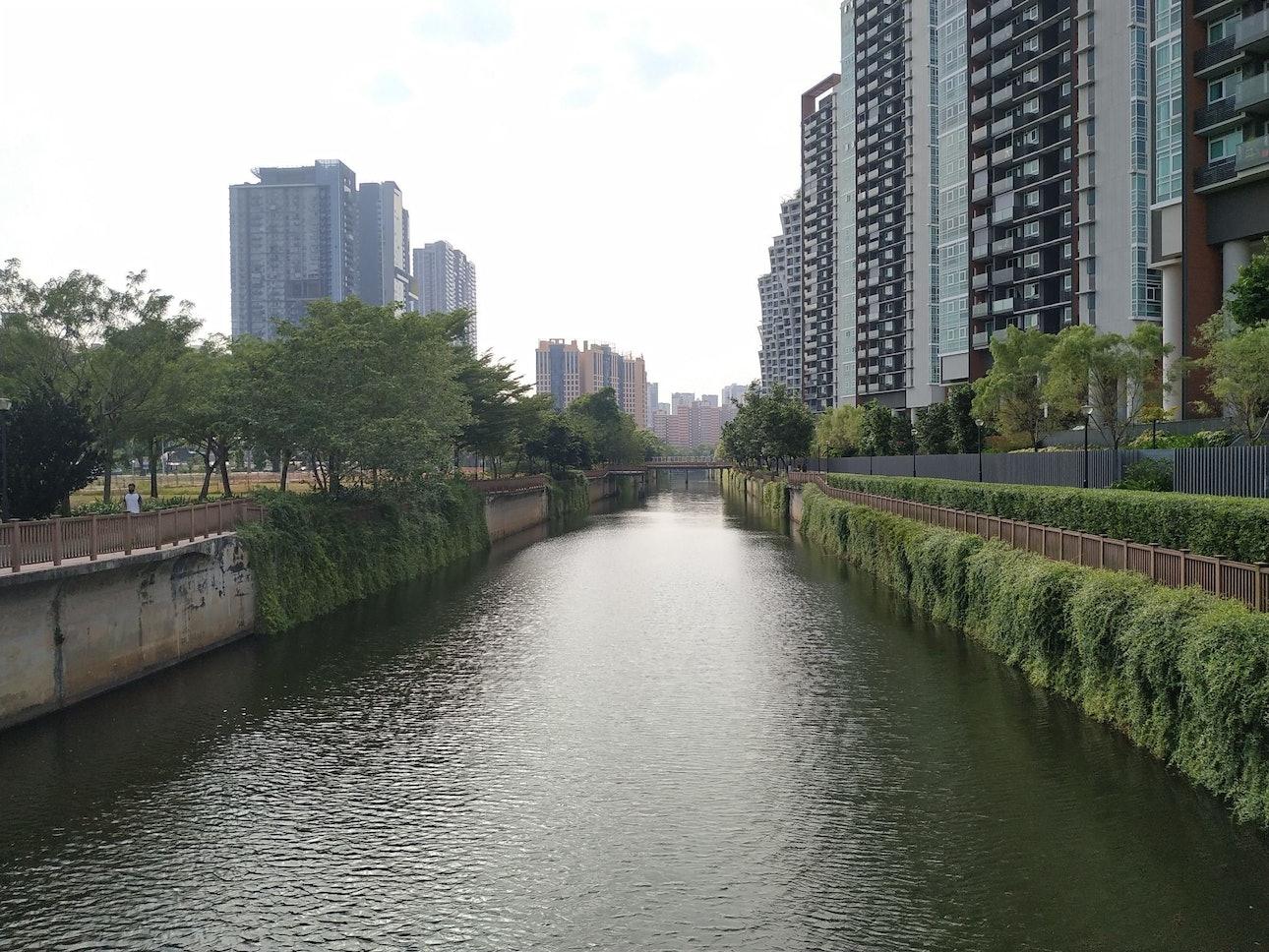 Набережная Сингапур