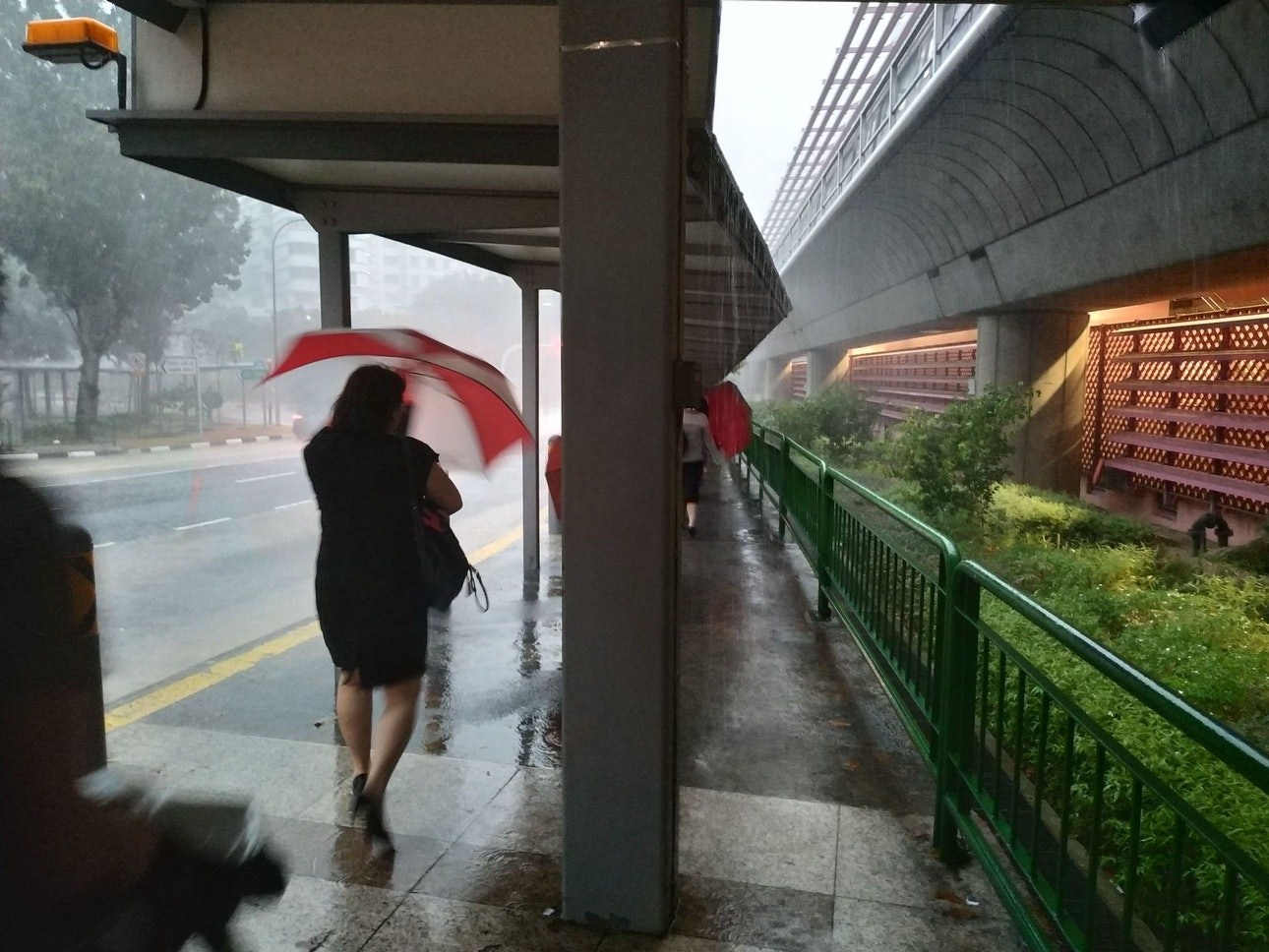 Жилье Сингапур тротуар