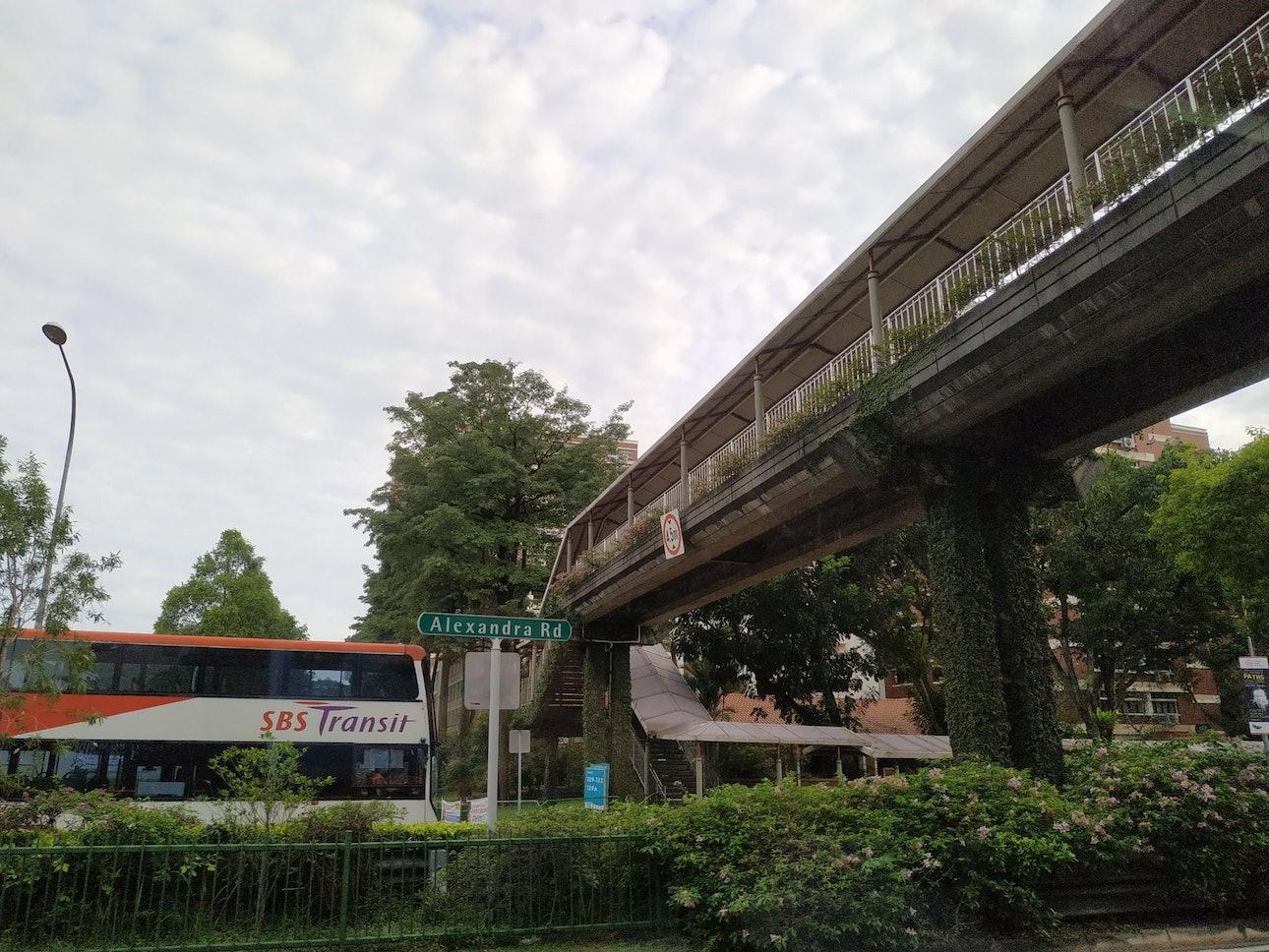 Сингапур пешеходный переход