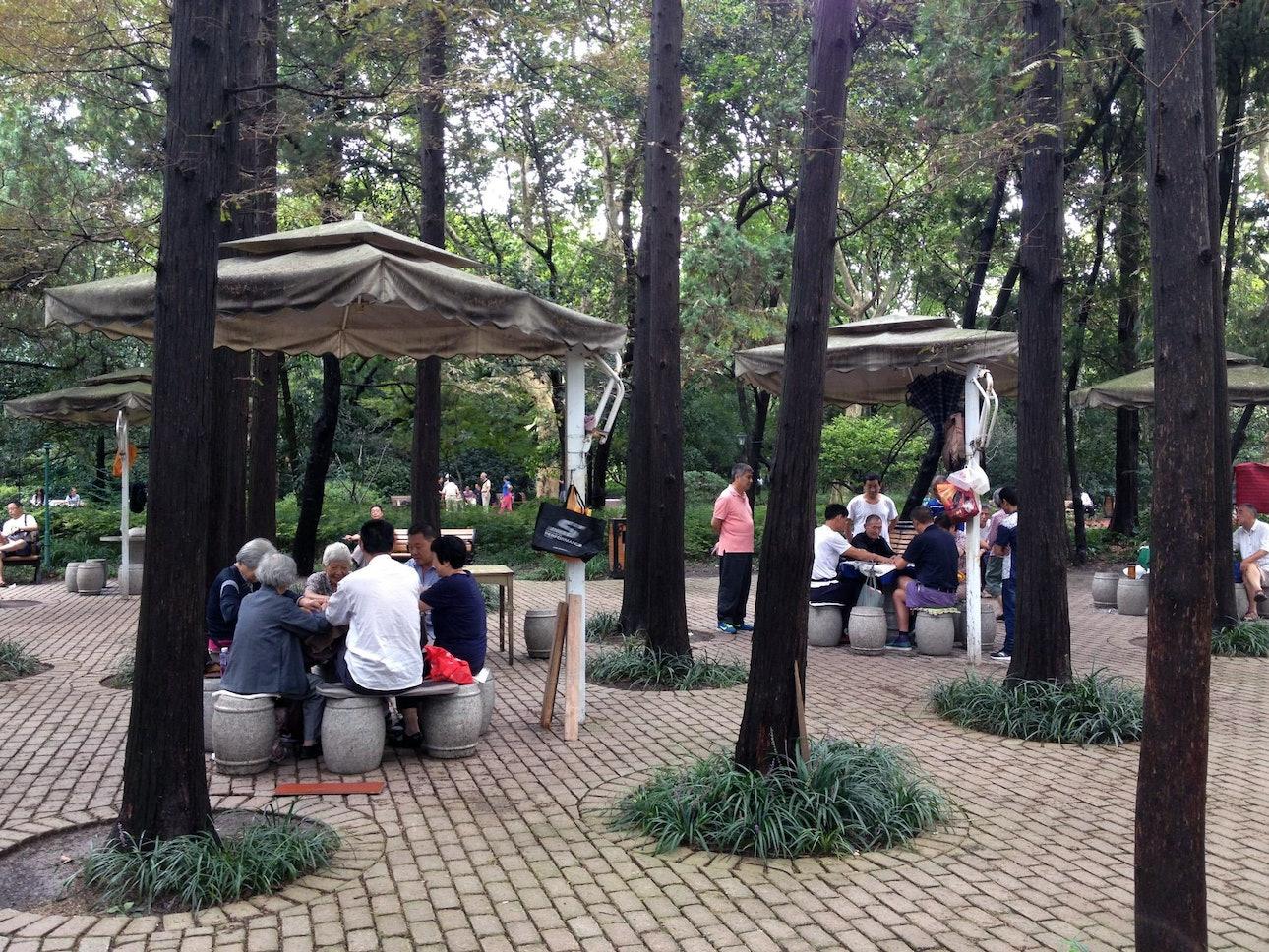Общественное пространство в Китае