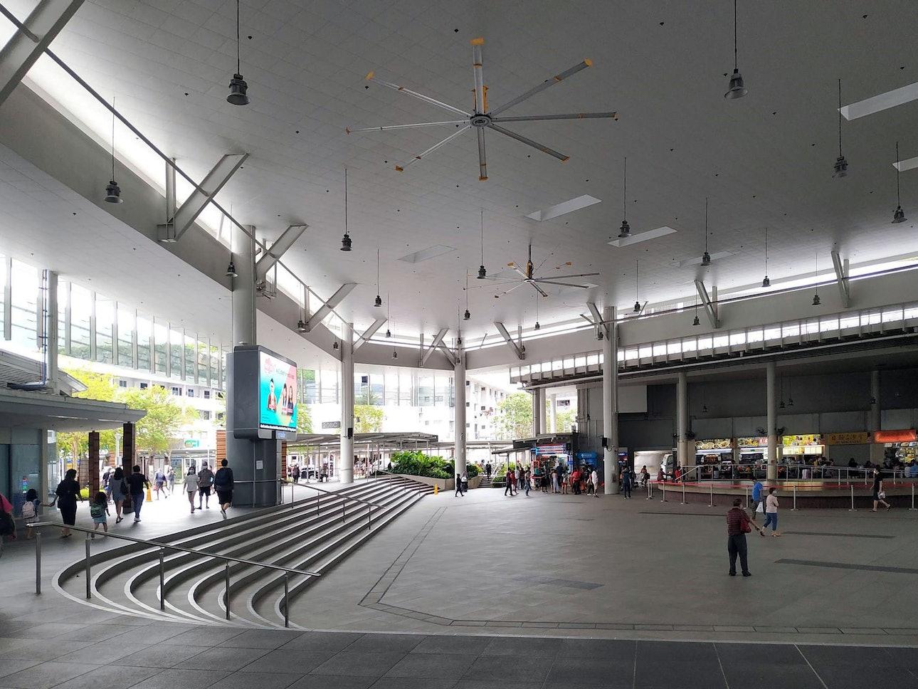 Общественное пространство Сингапур