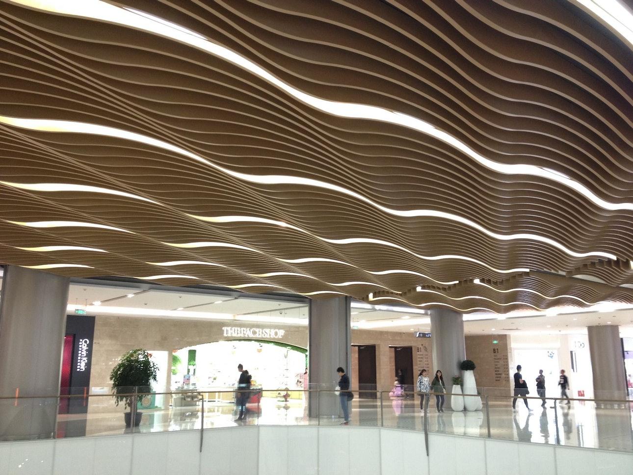 Подземный торговый центр в Китае