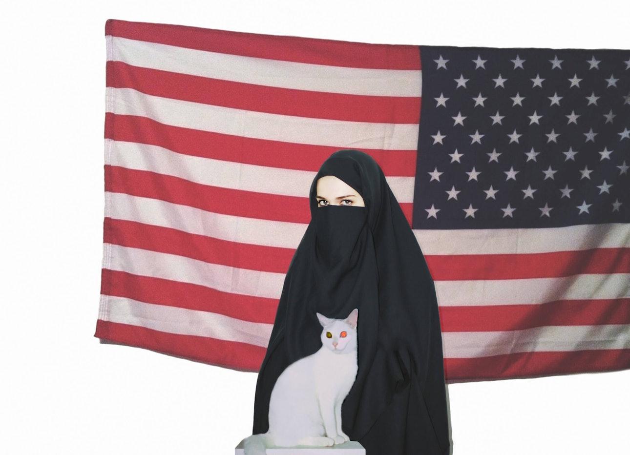Ярослав Солоп бурка никаб ислам