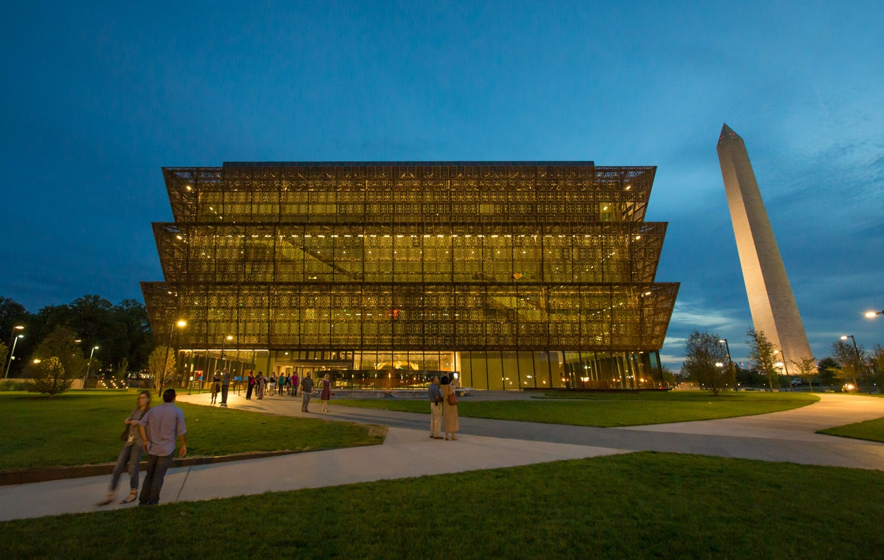 Девід Аджаїє Національний музей афроамериканської історії та культури у Вашингтоні архітектура