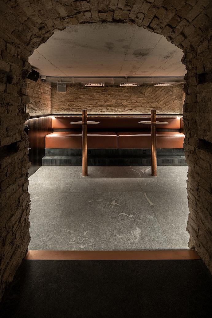 ресторан Самна дизайн интерьера