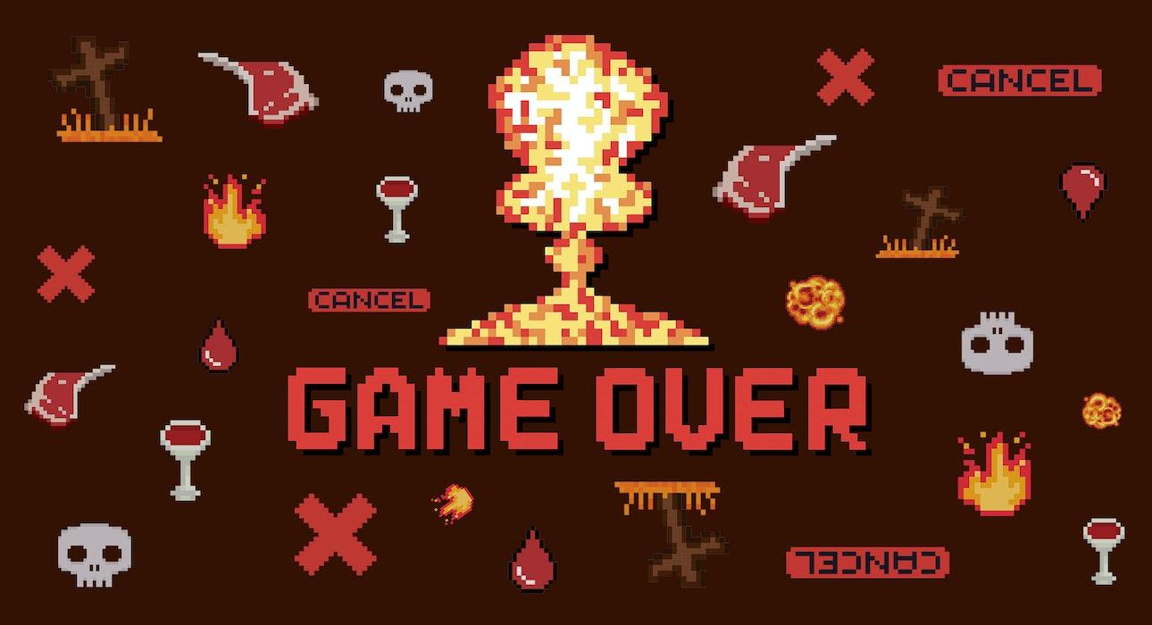 смерть від комп'ютерних ігор
