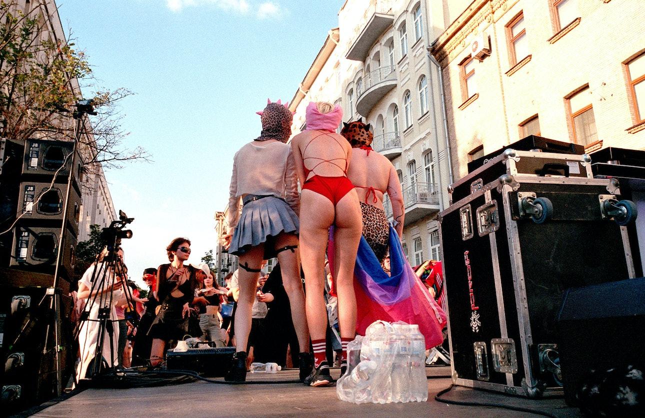 Рейвах Прайд Андрей Бойко Киев ЛГБТ