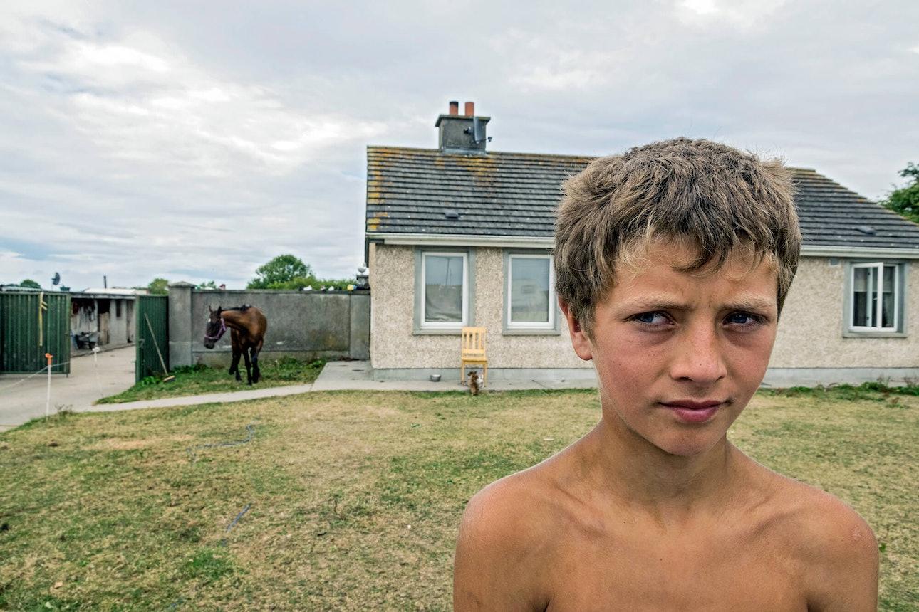 Joseph-Philippe BEVILLARD Pavees Irish Travellers