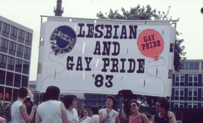 Марш силы лесбиянок и гей-прайд 1983 Лондон
