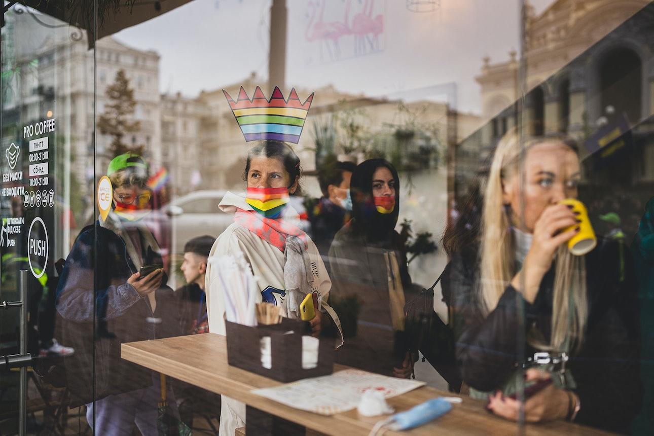 Марш Равенства Киев ЛГБТ Прайд гей парад