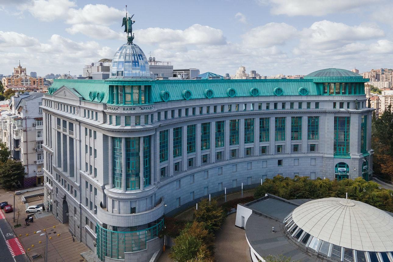 Банк Аркада Киев Евгений Никифоров архитектура