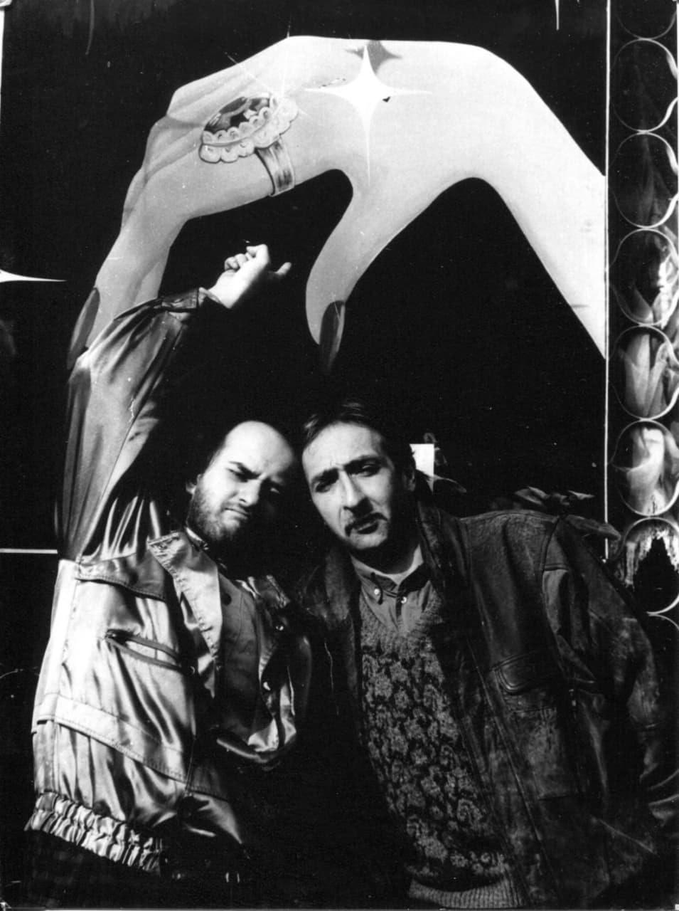 Фланери. Олександр Ройтбурд, Леонід Войцехов. Фото Олександра Шевчука, 1987