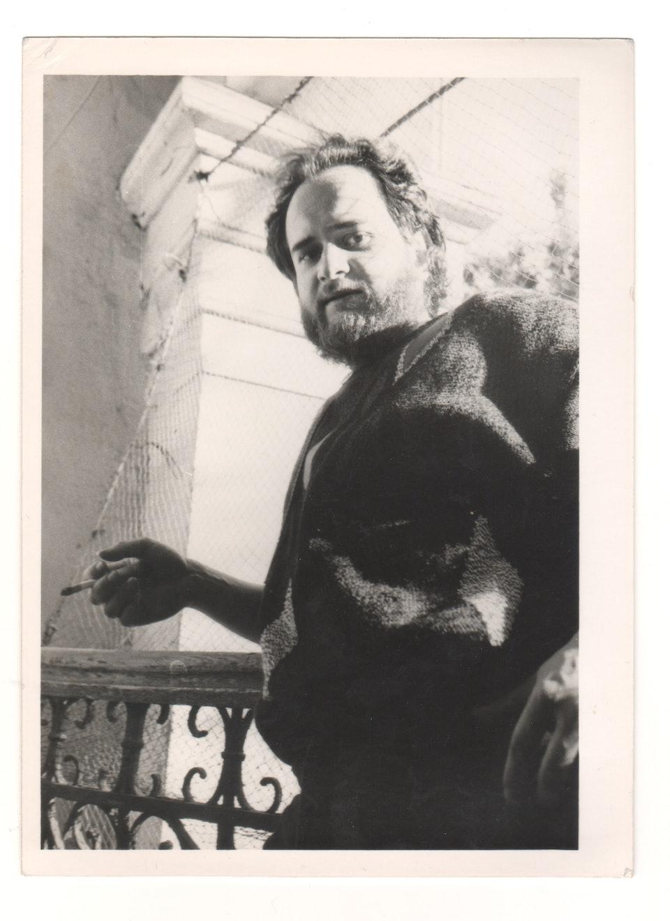 Олександр Ройтбурд, 1987. Фото Олександра Шевчука.